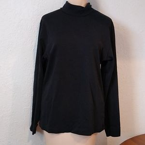 4/$10- Black Turtleneck Long Sleeve shirt